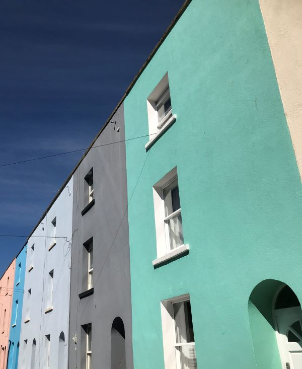 Inspiration for the new design was found in the colourful houses of Bristol which were saw on our daily walks during lockdown.